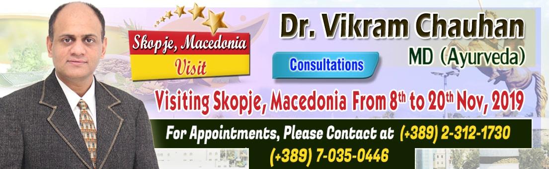 ayurvedic treatment, ayurvedic consultations, macedonia, skopje, dr vikram chauhan events