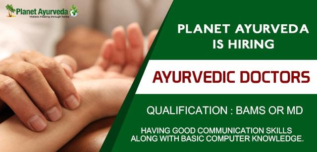 Vacancies for Ayurvedic Doctors