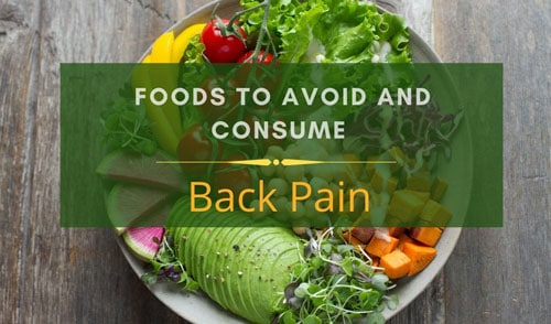 best food to consume and Avoid in Back pain