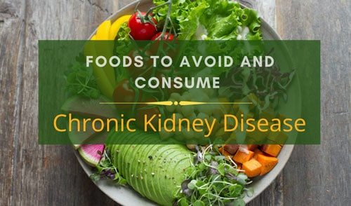 Chronic Kidney Disease diet charts