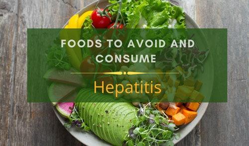 Hepatitis diet charts