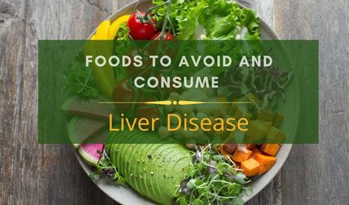 Liver Disease diet charts