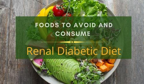 Renal Diabetic diet charts