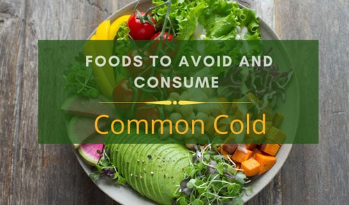 Common Cold diet charts