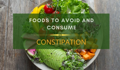 Constipation diet charts