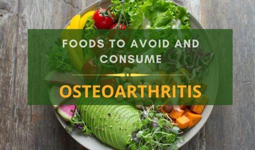 Osteoarthritis diet charts