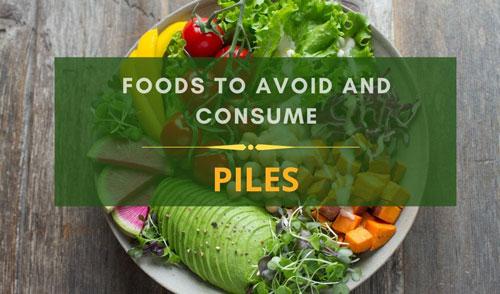 Piles diet charts