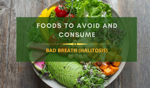 Halitosis diet charts