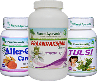 Natural treatment of Asthma with Asthma Care Pack