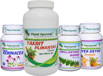 Liver Care Pack for hepatitis b treatment in ayurveda