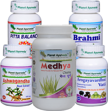 Migraine Care Pack - Ayurvedic Treatment for Migraine