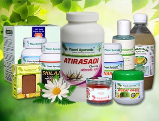 Planet Ayurveda's Products