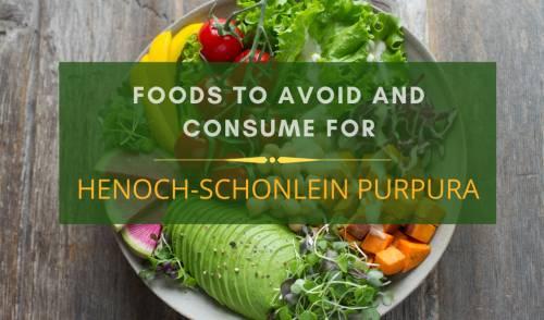 Henoch-Schonlein Purpura diet charts
