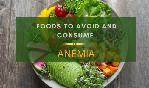 Anemia diet chart
