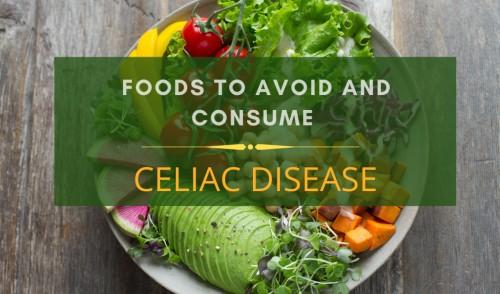 Celiac Disease diet chart
