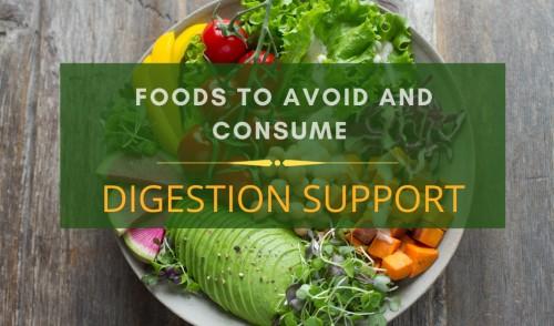 Digestion Support diet chart