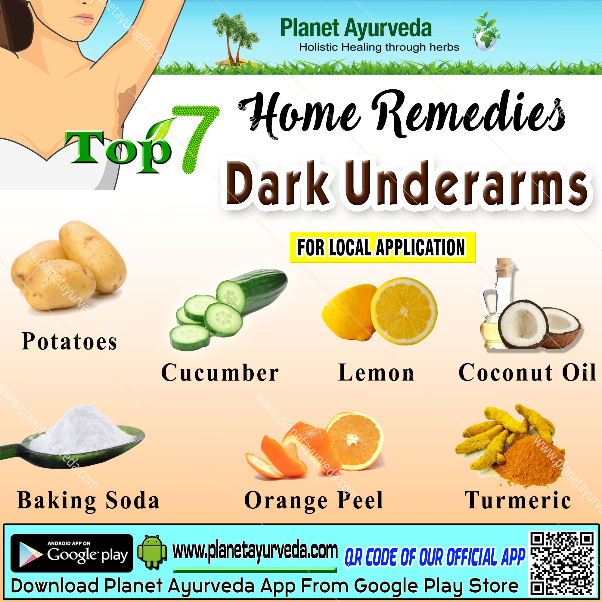 Dark Underarms